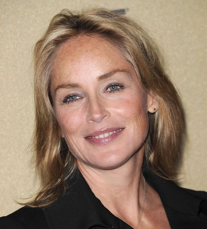Sharon Stone got her ears repierced at Rothsteins in Beverly Hills